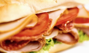 Lenny's Sub Shop: Two or Four Regular or Large Combo Meals at Lenny's Sub Shop (36% Off)