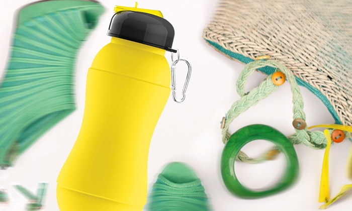 2-Pack of Sili-Squeeze Collapsible or Hydra Water Bottles: 2-Pack of Sili-Squeeze Water Bottles. Multiple Styles from $22.99–$24.99. Free Shipping and Returns.