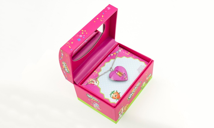 shopkins jewelry box collection shopkins jewelry box with lippy locket for groupon 3826