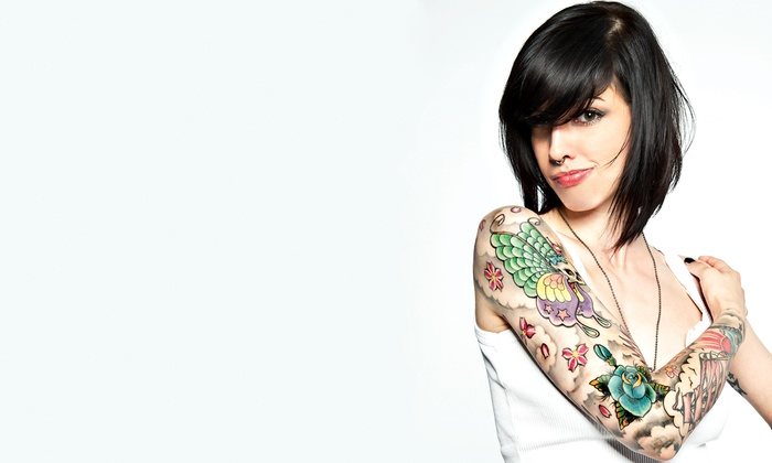 Inked Addicts - Lake Forest: $75 for $150 Groupon Towards an Hour of Work— Inked Addicts Tattoo & Body Piercing