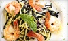 Gente Ristorante Italiano - Midtown Center: Zagat-Rated Italian Cuisine at Gente Ristorante Italiano (Up to 35% Off). Two Options Available.