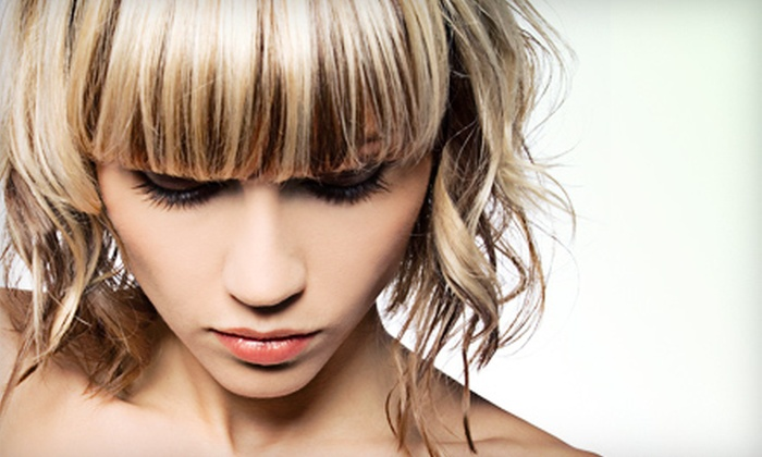 Shaso - Central London: One or Three Haircuts with Deep Conditioning, or Haircut with Partial Highlights at Shaso (Up to 57% Off)