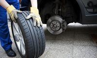 Räderwechsel, opt. inkl. Pkw-Sicherheitscheck, bei First Autoglas (bis zu 60% sparen*)