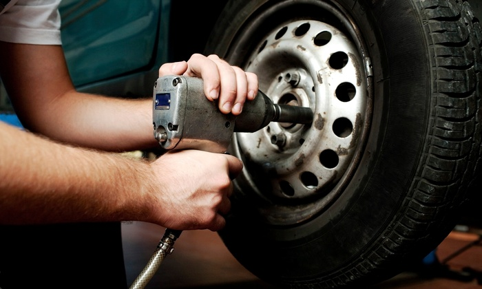 The Shop Automotive LLC - South Broadway: $49 for a Four-Wheel Alignment, Tire Rotation and Inspection at The Shop Automotive LLC ($154.98 Value)