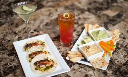 Drinks and Small Food Plates at The Tangiers (58% Off)