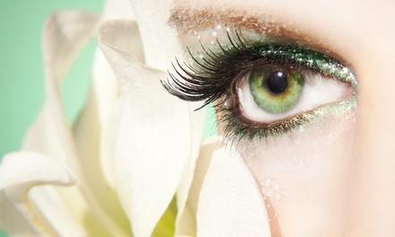 Wimpernverlängerung mit 100 Wimpern pro Auge, optional inkl. Refill, bei Kosmetik, Nagelstudio und Beauty ab 39,90 €