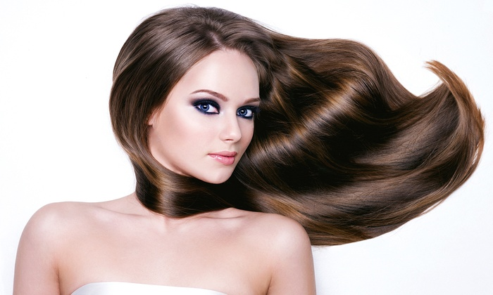 Level 77 Hair Studio - Manhattan: Haircut, Deep-Conditioning Treatment, Blow-Dry, and Partial or Full Highlights at Level 77 Hair Studio (Up to 68% Off)