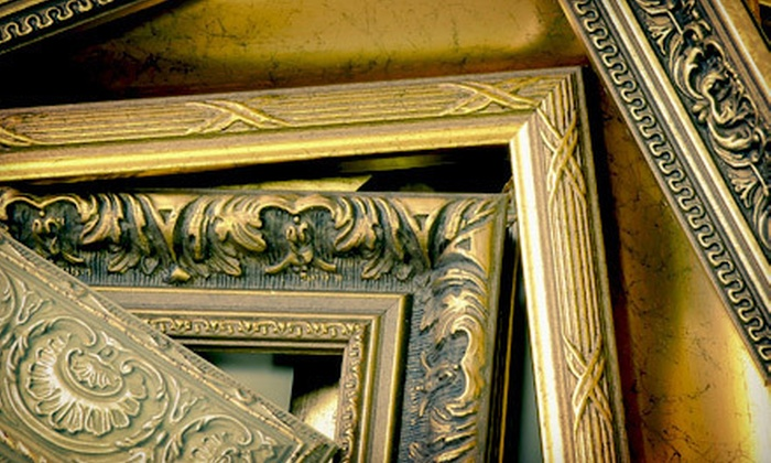 Frame Outlet - Picadome: Custom Framing and Matting at Frame Outlet (Up to 72% Off). Two Options Available.