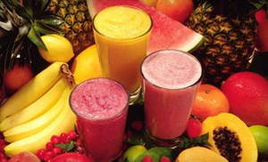 Smooth Nutrition: 5 or 10 Custom Smoothies at Smooth Nutrition (Up to 56% Off)