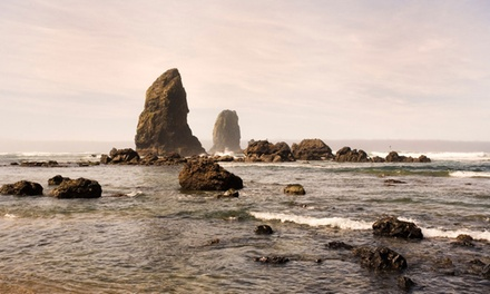 groupon daily deal - 2-Night Stay for Two in a Grand Room at McBee Cottages in Cannon Beach, OR. Combine Up to 6 Nights.