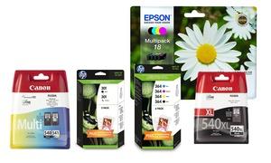 Kodak, Canon, Epson, HP Inks