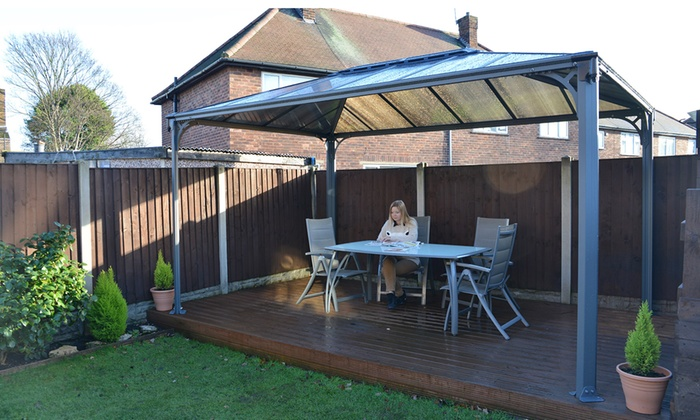 Groupon Goods Global GmbH Garden Gazebo With Free Delivery