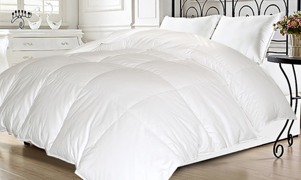 Kathy Ireland White Down Comforter