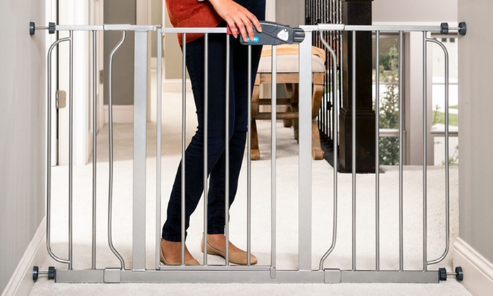 Extra Wide Walk Through Gate Groupon Goods