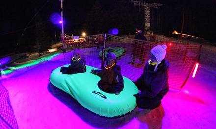 Nighttime Cosmic Tubing or Daytime Tubing for Two or Four at Mt. Hood Skibowl (Up to 50% Off)