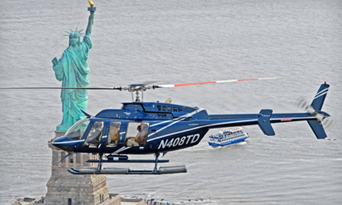 Helicopter Flight Services, Inc. - Financial District: 15-, 20-, or 30-Minute Helicopter Tour of New York City from Helicopter Flight Services, Inc. (Up to 40% Off)