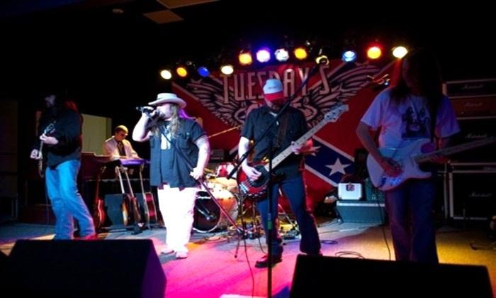 Tuesday's Gone - A Tribute to Lynyrd Skynyrd - House of Blues Myrtle Beach: Tuesday's Gone – A Tribute to Lynyrd Skynyrd on Friday, March 18, at 8 p.m.