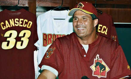 Jose Canseco vs. Evan Malamud Home Runs for Autism on Sat., May 12 at 2PM: 2 General-Admission Tickets - Jose Canseco vs. Evan Malamud Home Runs For Autism in Ottawa