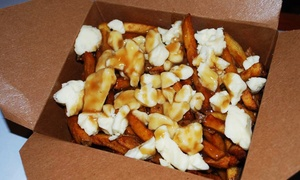 Big Cheese Poutinerie: Two or Four Poutines and Drinks at Big Cheese Poutinerie (Up to 27% Off)