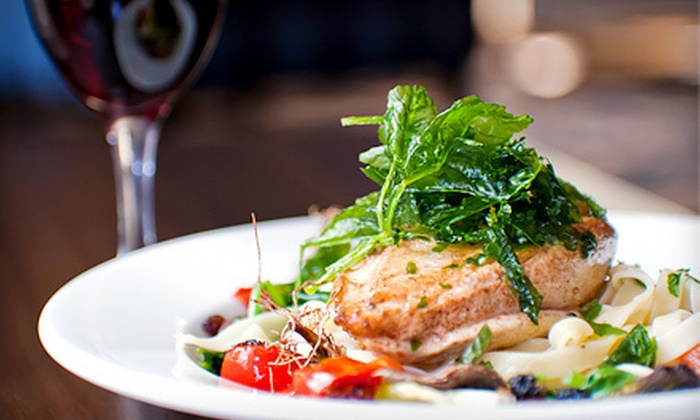 Anthony's Casual Dining - Glen Cove: $35 for Upscale Dinner for Two with Wine and Appetizer at Anthony's Casual Dining (Up to $78.85 Value)