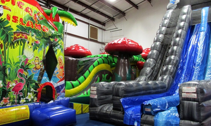 Jungle Gym'n Bounce - Hiltonia: 5 or 10 Kids' Open-Play Sessions at Jungle Gym'n Bounce (50% Off)