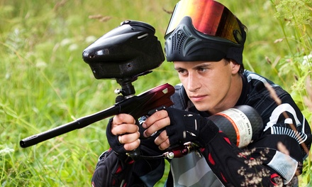 All-Day Paintball with Equipment Rental for Four or Six at Shooters All-Season Paintball (88% Off)
