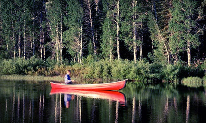 Five Mile Creek Canoe & Company - Multiple Locations: Two-Person Canoe Rental, Two Nights of Cabin Camping, or Both from Five Mile Creek Canoe & Company (Up to 57% Off)