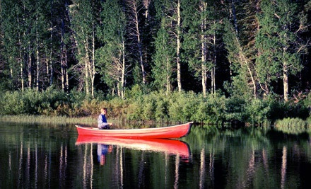 2-Person Canoe Rental (a $30 value) - Five Mile Creek Canoe & Company in Brookside