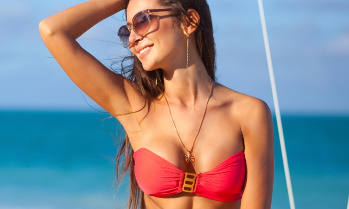 Glow by Miriam - Tarzana: St. Tropez Mobile Custom Spray Tans at Glow by Miriam (Up to 46% Off). Three Options Available.