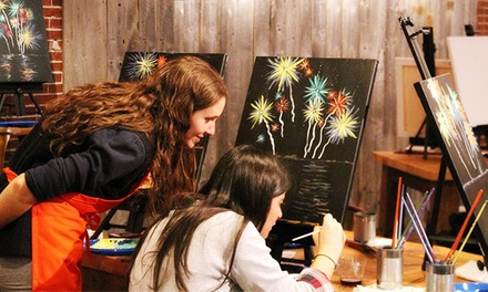 Painting Experience for One, Two, or Four at Muse Paintbar Portland (Up to 52% Off)