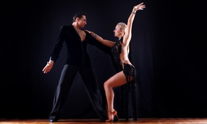 Ballroom Dance Center: Private Dance Class and Social Event or Three Private Dance Classes at Ballroom Dance Center (Up to 60% Off)