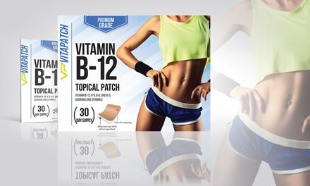 VitaPatch Vitamin B-12 and Guarana Slimming Patches (30-Pack)