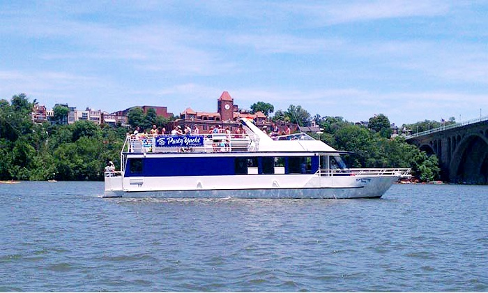 Boomerang Tours, Inc.  - Boomerang Boat Tours: Two-Hour Sunset Cruises or Day Sail for One, Two, or Four from Boomerang Tours, Inc. (Up to 49% Off)