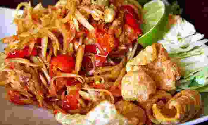 Bayou Twist - Park Crestmoor: $20 Worth of Cajun-Asian Fusion Food