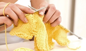 The Golden Fleece: Beginner Knitting or Crochet Class for One or Two with Optional Starter Kit at The Golden Fleece (Up to 65% Off)