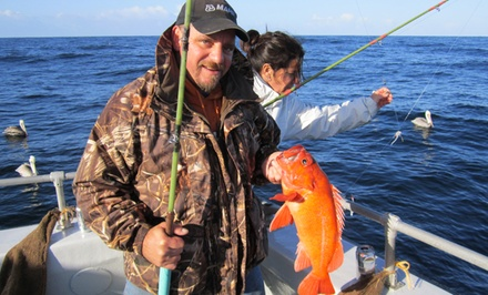 Salmon- or Cod-Fishing with Optional Rental Gear from Randy's Fishing and Whale Watching Trips (Up to 42% Off)
