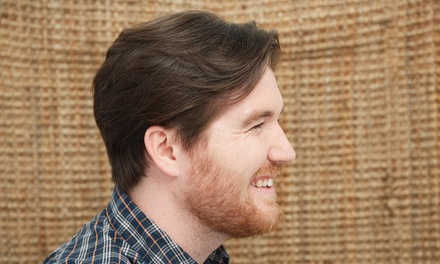 A Men's Haircut with Shampoo and Style from Amanda At Ocean Waves Salon (45% Off)