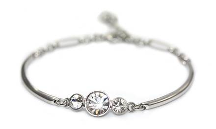 Jazz Bangle with Swarovski Elements