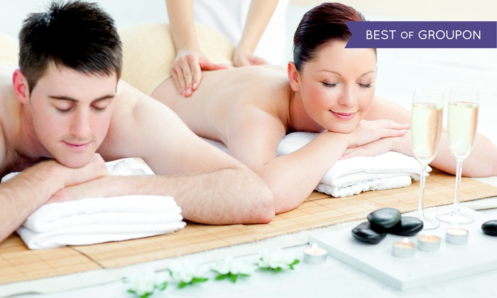 Tea Spa Wellness Center - Multiple Locations: Express Massage and Sauna Session or Individual or Couple's Massage at Tea Spa (Up to 51% Off)