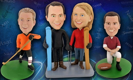 Individual or Couple Custom Bobbleheads from BigBobble for $52.99–$129.99