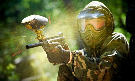 All-Day-Paintball Packages for 2, 4, 8, or 12 at Adventure Beach Scenario Paintball (Up to 66% Off)