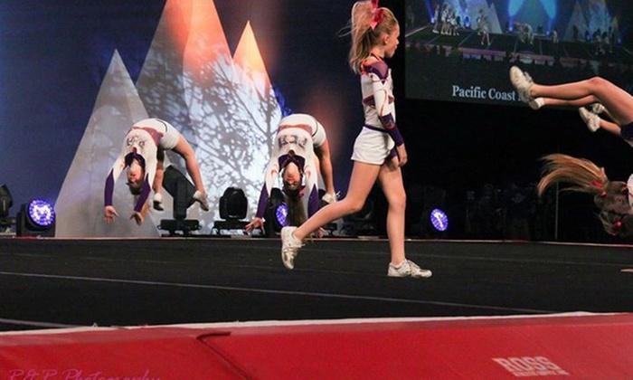 Pacific Coast Magic Cheer Arizona - Tempe: Up to 52% Off tumbling at Pacific Coast Magic Cheer Arizona