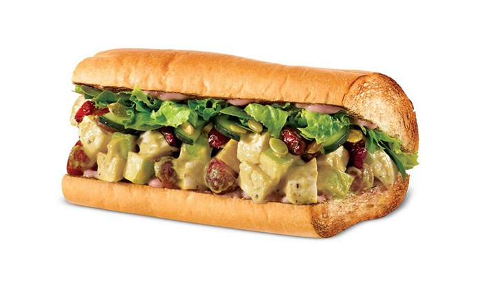 Quiznos - Central Scottsdale: Toasted Sandwiches, Soups & Salads or Create-Your-Own Catering Trayat Quiznos (Up to 50% Off). Two Options Available.
