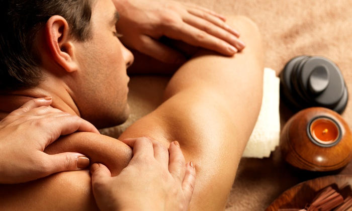 The Spa - Summerville: 60-Minute Men's Massage with Optional Signature Pedicure at The Spa (Up to 51% Off)