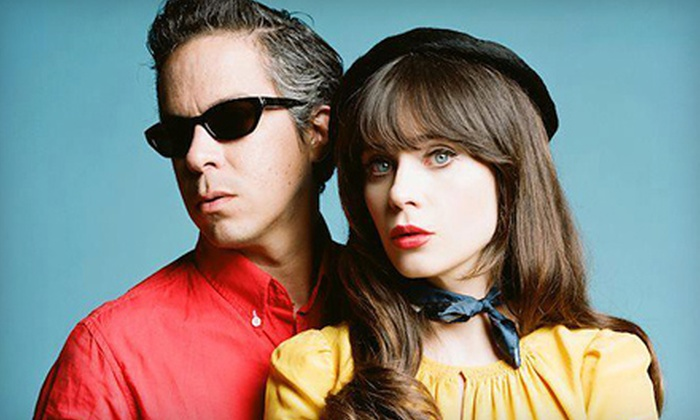 She & Him - Riverside Theater: She & Him at The Riverside Theater on Friday, June 28, at 8 p.m. (Up to 52% Off)