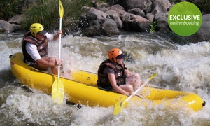 Parys Adventures: Full-Day Rafting Experience with Lunch from R539 for Two with Parys Adventures (Up to 60% Off)