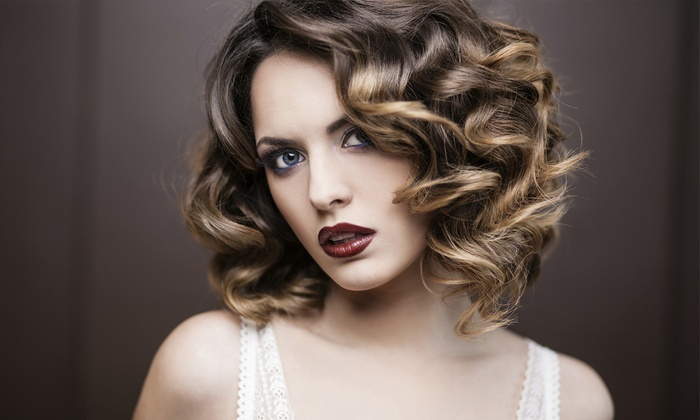 Barron's London Salon - Buckhead: $74 for Ombre Hair Color Services with New Talent Stylist at Barron's London Salon (Up to $120 Value)