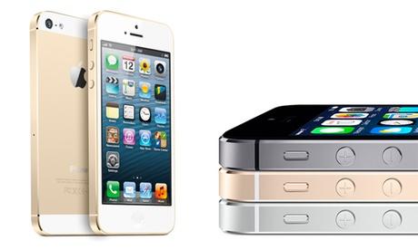 iPhone 5S reacondicionado de 16, 32 o 64 GB desde 379 €