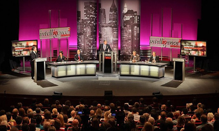 "Intelligence Squared Debates - The Loop: $15 for ""Ration End-of-Life Care: A Debate at Chicago Ideas Week"" at Goodman Theatre on October 10 (Up to $31.60 Value)"
