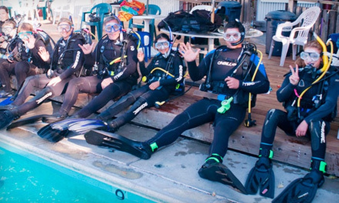 Adventure Sports Unlimited - Central Santa Cruz: $179 for an Open-Water PADI Certification Course with Scuba-Equipment Rental at Adventure Sports Unlimited ($360 Value)